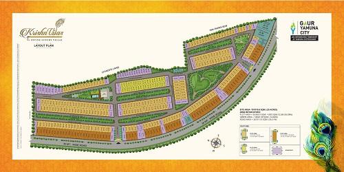 Krishnvilas Site Plan